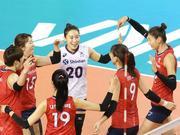 奥运资格赛韩国女排14人名单 金软景李在英领衔