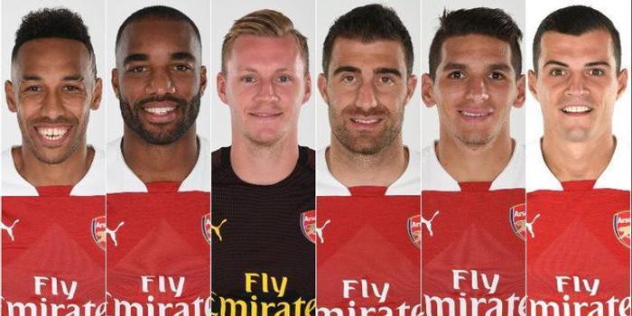 阿森纳赛季最佳6大候选公布 你选择哪位大将?