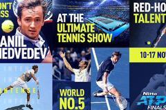 梅德韦杰夫确定入围ATP总决赛 成德纳费后第四人
