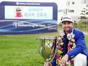 克鲁格逆转赢新韩东海公开赛 结束7年亚巡冠军荒