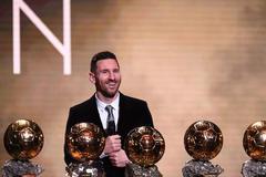 梅西:个人奖项是次要的 我更希望夺美洲杯和欧冠