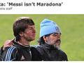 阿根廷前最佳:因一点 梅西永远追不上马拉多纳