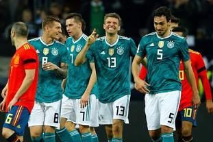 德国1-1西班牙