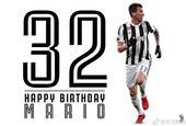 曼朱基奇32岁生日快乐!