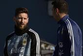 梅西回国家队报到 加入合练