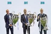 齐达内皇马执教生涯回顾 豪夺欧冠三连冠