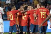 [热身赛]西班牙1-1瑞士