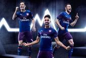 阿森纳新赛季客场球衣正式发布