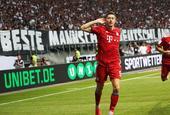 [德国超级杯]法兰克福0-5拜仁
