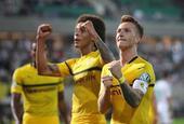 德国杯-中超旧将补时扳平 多特逆转晋级