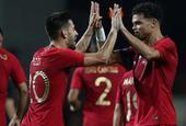 [热身赛]葡萄牙1-1克罗地亚