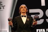 直击国际足联年度颁奖典礼现场