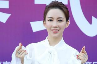 潘晓婷亮相九球世锦赛开幕式