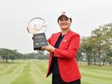李�F赢中国女子公开赛冠军