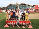 众星出席拍摄阿布扎比锦标赛开幕照
