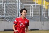韩国小将帽子戏法拜仁二队3-0
