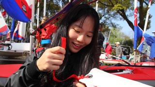 全国青少年帆船联赛上海开赛