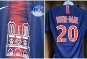 巴黎特殊球衣 球员全叫巴黎圣母院
