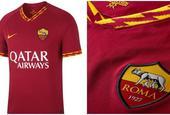 罗马新赛季球衣 1细节霸气