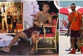 奥巴梅扬迈阿密海滩庆30岁生日