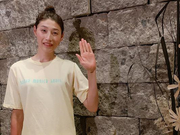 韩国女排金软景开启度假模式