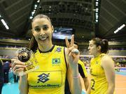 巴西女排3-0阿根廷 谢拉复出:女儿在场令我激动