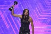 美女球星获ESPY最佳女运动员奖