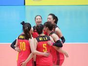 U23女排亚锦赛中国晋级八强