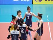U23亚锦赛中国女排3-0新西兰