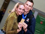 世界男排联赛冠军俄罗斯载誉归国