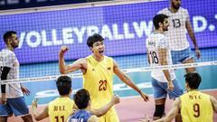 奥运资格赛中国男排2-3阿根廷