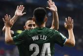 [欧联杯]西班牙人3-0卢塞恩 武磊打入欧战首球