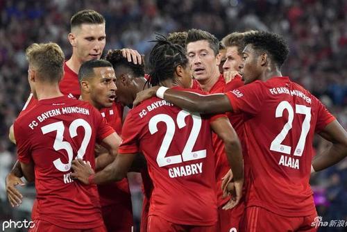 [德甲揭幕战]拜仁慕尼黑2-2柏林赫塔