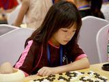 高清-围棋大会女选手的精彩瞬间