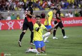 热身-内马尔难救主 巴西0-1