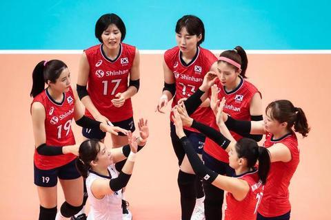 世界杯韩国女排3-0完胜喀麦隆