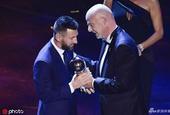 梅西力压范戴克C罗当选世界足球先生