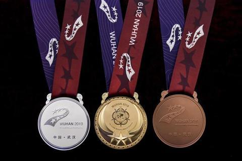 第7届世界军人运动会奖牌奖杯亮相