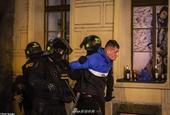 14人被捕!英球迷与警方火爆冲突
