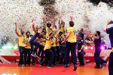男排世界杯巴西波兰美国列三甲