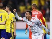 [欧预赛]瑞典1-1西班牙