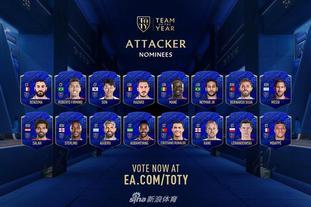FIFA20年度最佳阵容55大候选