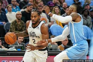 [NBA常规赛]快船124-117森林狼