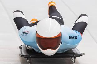 2020世界雪车锦标赛闫文港出战