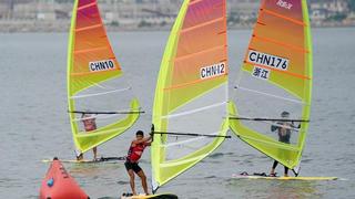 全国帆板锦标赛:男子RS:X级