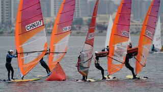 全国帆板锦标赛:女子RS:X级