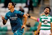 [欧联杯]AC米兰2-0沙姆罗克 伊布破门