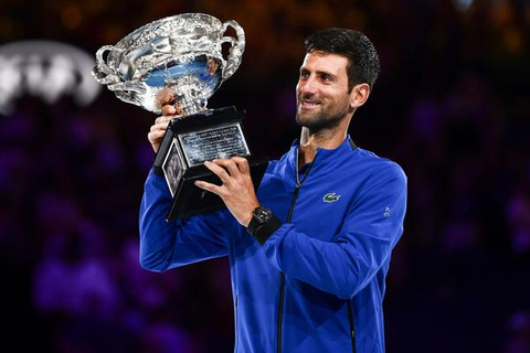澳网官方回顾小德八次夺冠经历