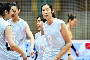 全运会女排资格赛:河南vs浙江