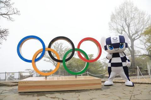 東京舉行奧運會倒計時100天紀念活動